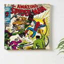 (アートデリ) マーベル インテリア用アートパネル Spiderman(スパイダーマン) ファブリックパネル (mvl-0003)