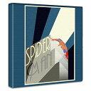 アートデリ スパイダーマンのアートパネル mvl-0022