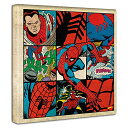 スパイダーマンのアートパネル mvl-0027