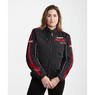 SIMPSON シンプソン ライディングジャケット NSW-1904L Ladys Urban Racing Jacket レディース アーバン レーシングジャケット サイズ:L