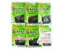 韓国のりジャパン 韓国光天 味付のり 8切8枚 12袋