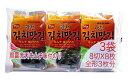 韓国のりジャパン 韓国光天キムチ 味付のり 3袋