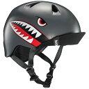 子供用 ヘルメット sサイズ/mサイズ 51.5-  サテン グレイ フライイング タイガー