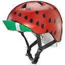 bern バーン NINA 子供用 ヘルメット ニーナ Satin Red Strawberry XS/Sサイズ48-51.5cm BE-VJGSRSV-11