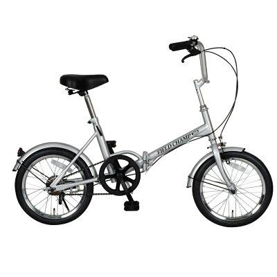 FIELD CHAMP 365 16インチ折りたたみ自転車 72750 シルバー
