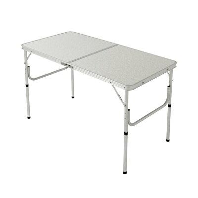 アウトドア用 折り畳み式テーブル120cm PC1812-2