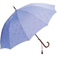 彩織 Saori  骨ジャガード織生地傘 紫苑 JK-72 晴雨兼用傘 かさ