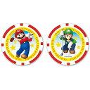 スーパーマリオ ゴルフマーカー チップタイプ マリオゴルフ SUPER MARIO