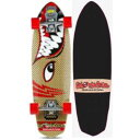 "SMOOTH STAR スムーススター 30"" Barracuda Skateboard Red Red"