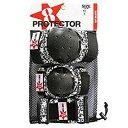 GO SK8 キッズ用プロテクター3点 BLK/RED XS GO SK8 PROTECTOR  BLK/LIMEプロテクター