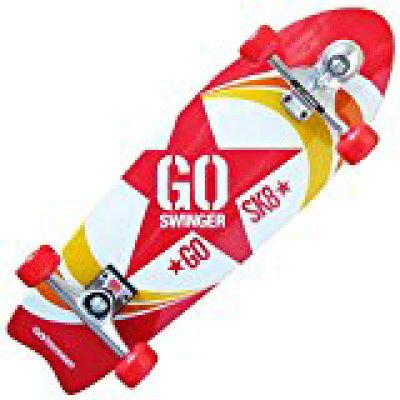 ゴースインガー GOSWINGER コンプリート スケートボード 28インチ RED GOSWG-1