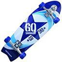ゴースインガー GOSWINGER コンプリート スケートボード 28インチ BLUE GOSWG-2