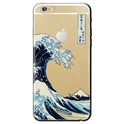 ナチュラルデザインiPhone 6用 AppleMagic HOKUSAI iP6A11 IP6A11