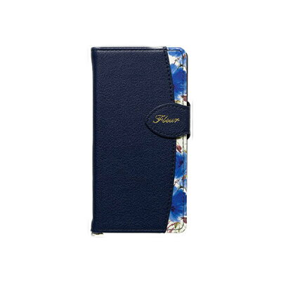 fleur xperia xz1/xz1compact手帳型 ケース フルール スマホケース ベルト