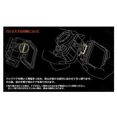 ISAW Extreme FullHDアクションカム 防水カメラ