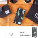 iPhone6/iPhone6S ケース  HEX HX1750  MNCM  Icon Wallet