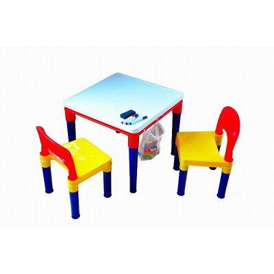ブロックプレイ お絵かきテーブル&チェアー(1セット)