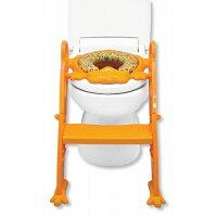かえるのふかふかステップ式トイレトレーナー イエロー(1コ入)