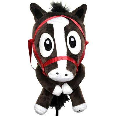 ホクシン交易 WHC1687 競走馬 キャラクター ヘッドカバー ドライバー用