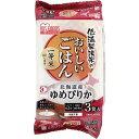 アイリスフーズ 低温製法米のおいしいパックごはん 北海道ゆめぴりか 180gX3