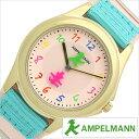 アンペルマン キッズ 子供用 腕時計 クオーツ AMA-2034-22 AMPELMANN ライトピンク