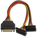 ainex シリアルata用二股電源ケーブル       s2-1504sab