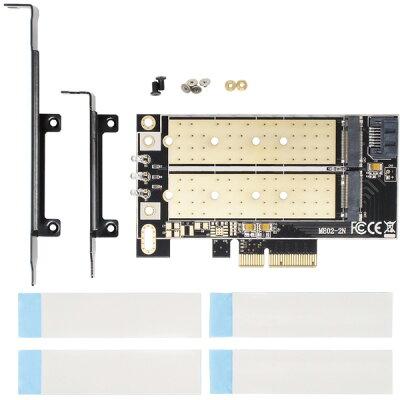 アイネックス M.2 SSD変換PCIeカード SATAコンボ AIF-06A