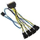 アイネックス PWM4分岐ケーブル 10cm CA-864SAPS