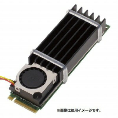 アイネックス M.2 SSD用クーラー CB-7010M2 ブラック