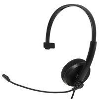 ainex 高音質USBヘッドセット 片耳タイプ AHS-03