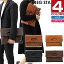 レジスタ 2WAY PUレザークラッチバッグ シンセティック レザー ハンドバッグ バッグ 鞄 ツーウェイ 573