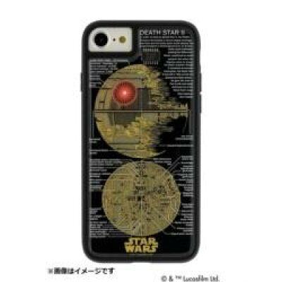 電子技販 iPhone 8用 S.W. FLASH DEATH STAR 基板アートケース 黒 P7070B