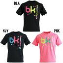 ブラックナイト TシャツT-12216 バドミントン ウエア Tシャツ 半袖 シャツ ユニセックス BlackKnight
