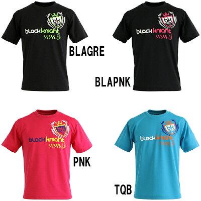 ブラックナイト TシャツT-12316 バドミントン ウエア Tシャツ 半袖 シャツ ユニセックス BlackKnight