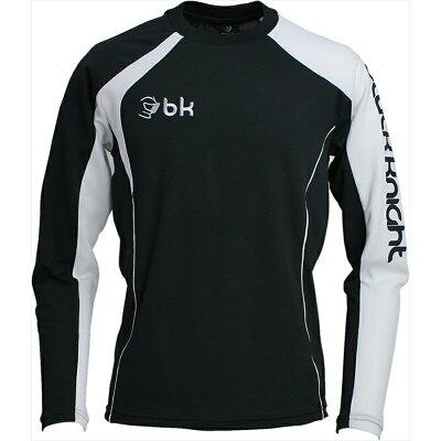 ブラックナイト ロングTシャツT-6215 バドミントン ウエア Tシャツ 長袖 シャツ メンズ ユニセックス BlackKnight