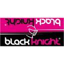 ブラックナイト Black knight バドミントン マイクロファイバータオル ブラック/ピンク MCT-2 BLAPNK