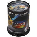 SILICON POWER 録画用DVD-R SPDR120PWC100S