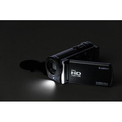 エスキュービズムエレクトリック フルHDデジタルムービーカメラ SCDC-01B SCDC01B