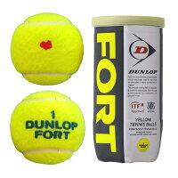 KPIオリジナルモデルDUNLOPダンロップFORTフォート 1箱30缶/60球テニスボール
