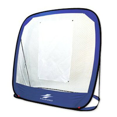 軟式野球 折り畳みどこでもバッティングネット ラージサイズ 収納バッグ付き
