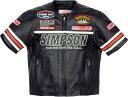 SIMPSON シンプソン Tシャツ Punching Leather T-shirts パンチングレザーTシャツ サイズ:3L