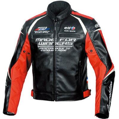 ELF エルフ フラッグシップ elf EL-9243 Evoluzione PU Leather Jacket エヴォルツィオーネPUレザージャケット Red LL 品番:EL-9243RDLL