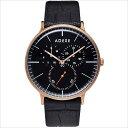 adexe アデクス 1868a-06 ユニセックス 腕時計 grande グランデ   ローズゴールド ブラック