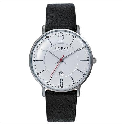 ADEXE 2043B-02 ユニセックス 腕時計 PETITE プチ 33mm シルバー ホワイト ブラック