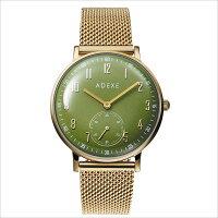 ADEXE 2043C-06 ユニセックス 腕時計 PETITE プチ 33mm ゴールド モスグリーン