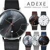 adexe アデクス2046b-01 ユニセックス 腕時計 グランデ   ローズゴールド ダークブラウン