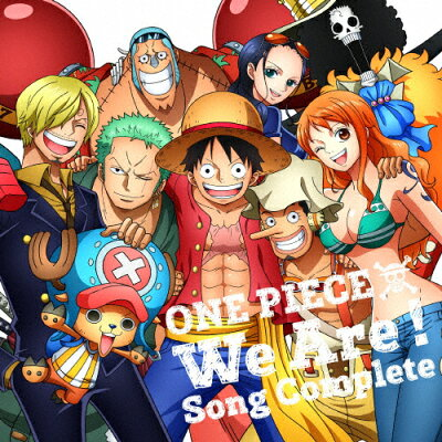 ONE PIECE ウィーアー!Song Complete/CD/EYCA-11824