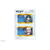 """DOG DAYS"""" ICカードステッカーセット 02 ナナミ&レオ カナリア"""