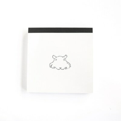 animal series メモパッド スクエア メンダコ gf-449
