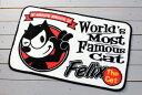 フィリックス フロアマット /Felix The Cat/デスク バス 玄関 キッチン/アメリカン雑貨/
